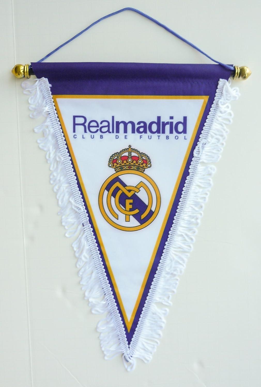 Real Madrid CF tarjeta logotipo de balón de fútbol triángulo ...