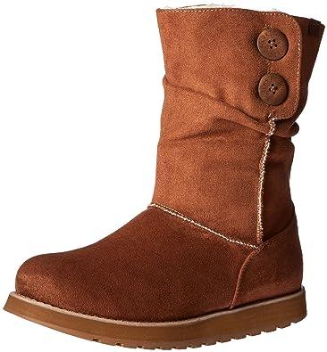 Skechers Women's Keepsakes-Big Button Slouch Mid Winter Boot,Chestnut,5 ...