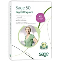 Sage 50 Payroll Explore - 25 employees: RTI Edition (PC)