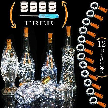 Review Wine Bottle Lights 12