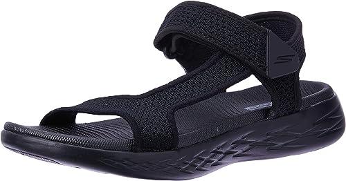 THE Schwarz Farbe RADIANT, 600 GO ON SKECHERS Sandaletten