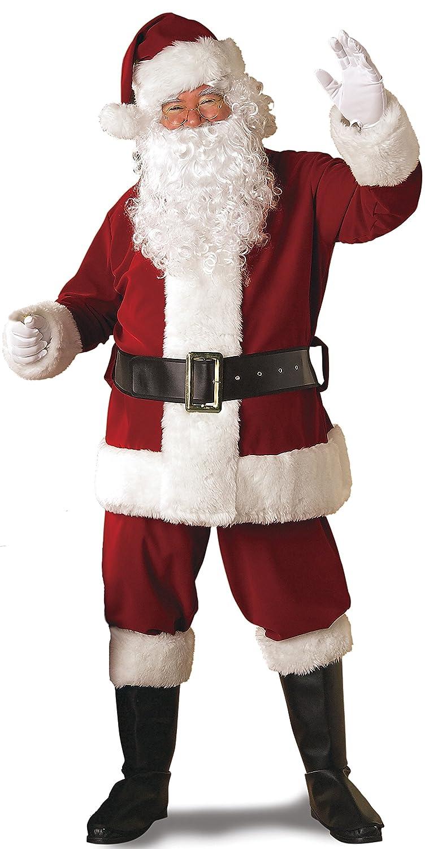 Rubie's Regal Crimson Santa Suit With Gloves Rubies Costumes - Apparel