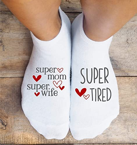 Amazon Com Mom Life Socks Wife Mother S Day Funny Birthday Christmas Gift Handmade