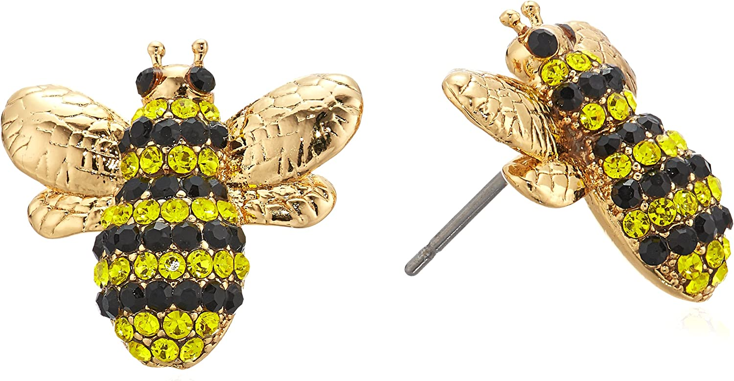 "kate spade new york""Pave Bee Studs"" Picnic Perfect Pave Bee Multi Stud Earrings"