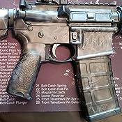 GunSkins AR-15 Rifle Skin Camouflage Kit DIY Vinyl Wrap with precut Pieces