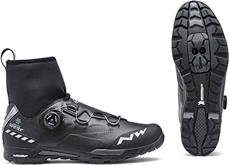 Northwave X VTT d'hiver Raptor de GTX Chaussures Noir Arctic gY6bf7vy