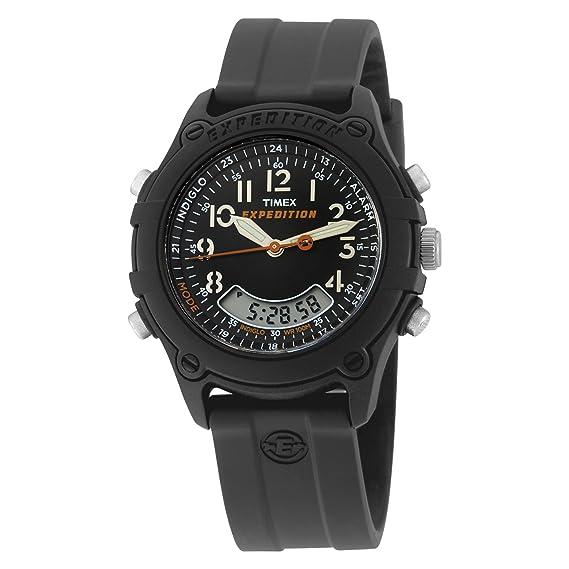 Timex Expedition T49742 - Reloj de caballero de cuarzo, correa de textil color negro (