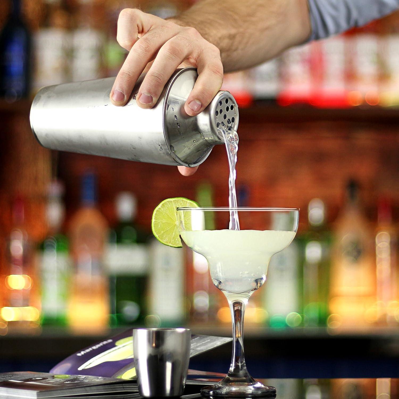 Manhattan Cocktail-Shaker Set in recycelbarer Box von bar@drinkstuff ...