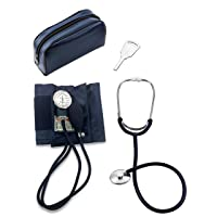 Primacare DS-9196 Classic Series Large Adult Blood Pressure Kit with D-Ring Cuff with Stethoscope
