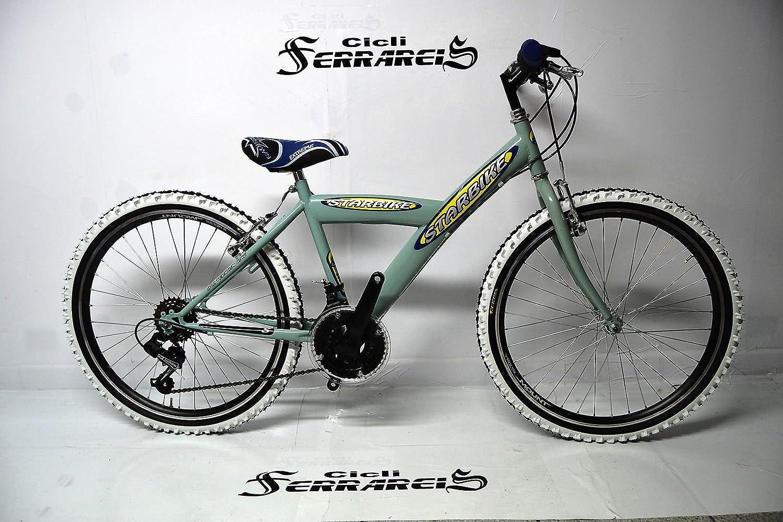 Bicicleta MTB Kappa 24 18 Velocita verde: Amazon.es: Deportes y ...