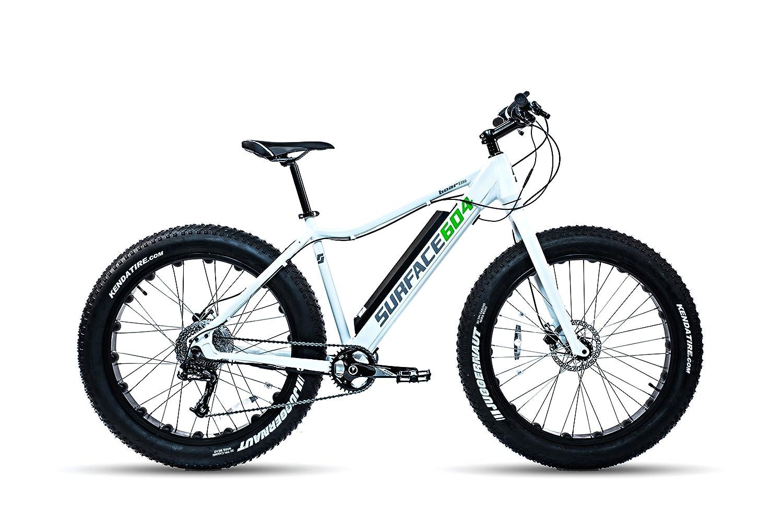 サーフェス604 Boar e350 Electric Fat Bike B015F1HJOI Small|ホワイト ホワイト Small