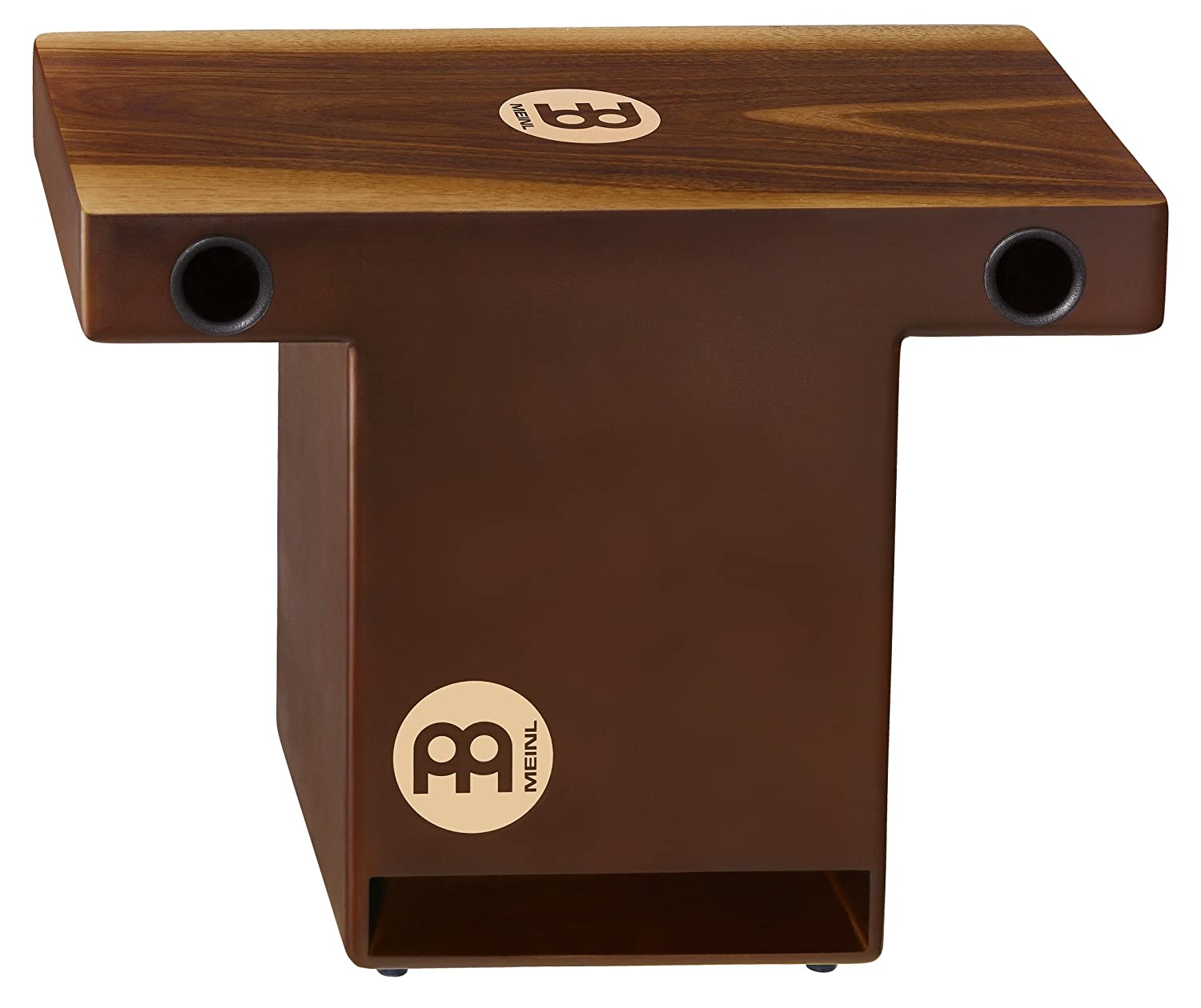 Meinl Slaptop Cajon Box Drum with Internal Snares - NOT MADE IN CHINA - Makah Burl Playing Surface, 2-YEAR WARRANTY (TOPCAJ1MB) Meinl USA L.C.