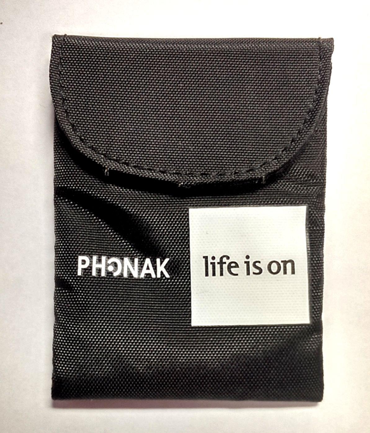 Amazon.com: Original Phonak Hearing Aid Pouch: Health & Personal Care