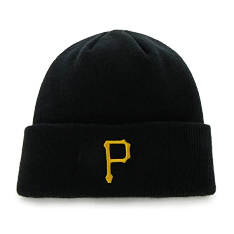 7d8edece99b Amazon.com   MLB Pittsburgh Pirates  47 Raised Cuff Knit Hat