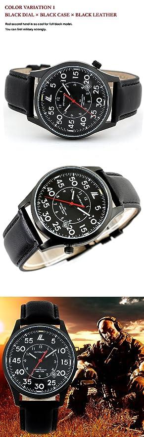 [LAD WEATHER] El tritio Suizo Reloj Military Hombres Noche Reloj Deportivo: Amazon.es: Relojes