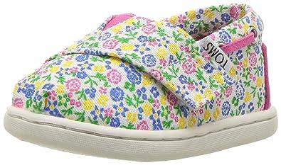 f63dfaabf79b Amazon.com  TOMS Kids  10010045 Floral Bimini-K  Shoes