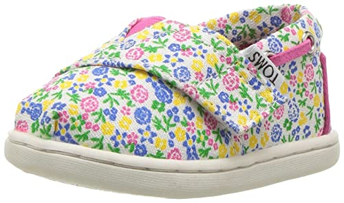 2b34506d4f854 Amazon.com: TOMS Kids' 10010045 Floral Bimini-K: Shoes