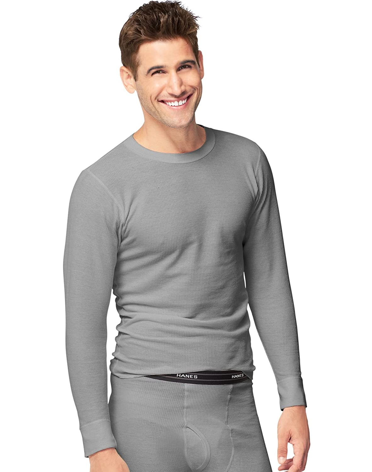 Hanes Tall Mens Big Red Label X-Temp Thermal Crew Top