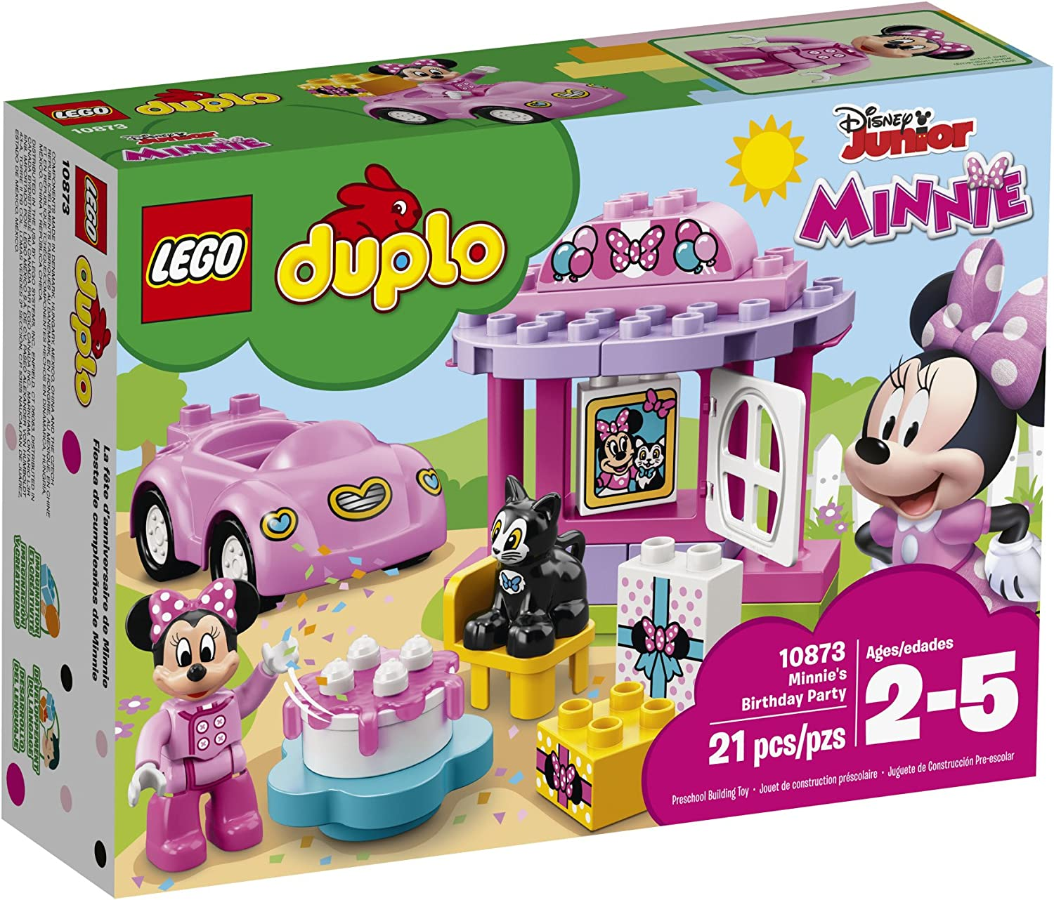 LEGO® DUPLO® Disney™ Minnie/'s Birthday Party 10873 21 Pcs