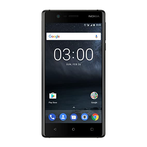 04bc38a829f Nokia 3 (Matte Black)  Amazon.in  Electronics