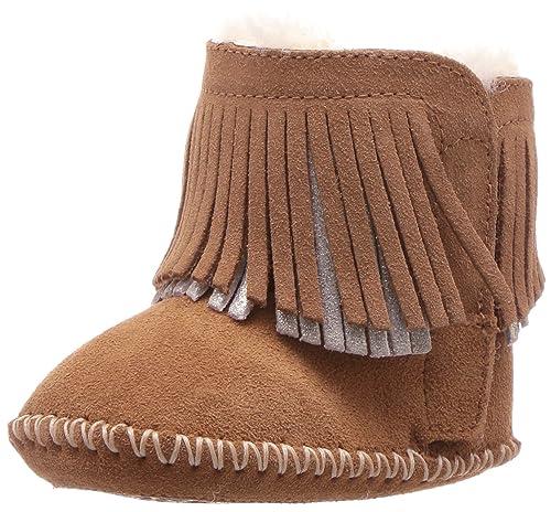 1f8bbf37120 UGG Baby Girl's I BRANYON FRINGE Boots: Amazon.ca: Shoes & Handbags