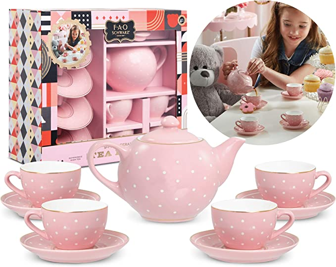 PLASCO USA Tea Time Sets 100 Pieces