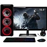PC Gamer Intel Core i5 8GB HD 1TB (Nvidia Geforce GT) Kit Gamer e Monitor LED HDMI 19.5 Light II