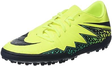 Hypervenom Phelon II TF Turf Soccer Cleats (Volt Hyper Turquoise)