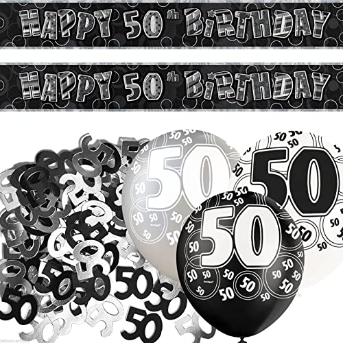 Decoration For 50th Birthday Party: Amazon.co.uk