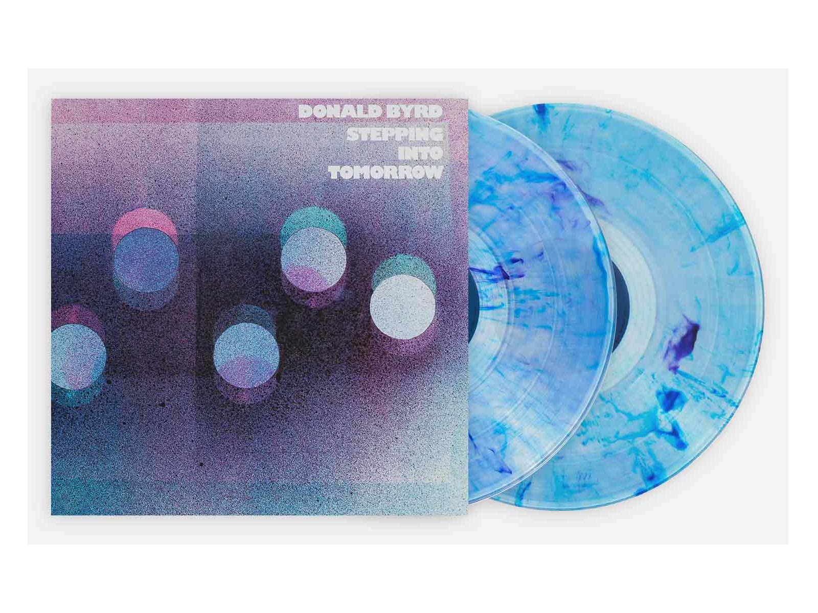 Donald Byrd - Stepping Into Tomorrow Exclusive Edition [Purple & Blue 180 gram, 2XLP vinyl] by Blue Note