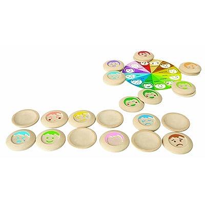 Plan Toys- Memo Estados de ánimo (5656): Juguetes y juegos