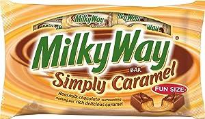 Milky Way Simply Caramel Fun Size Bars, 11.5-Ounce