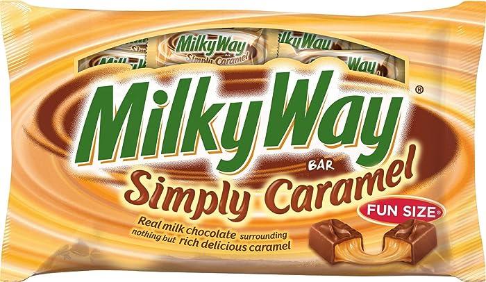 Top 10 Milky Way Caramel Apple Minis
