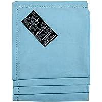 Homescapes set de 4 servilletas suaves de algodón, con borde en puntos 45 x 45