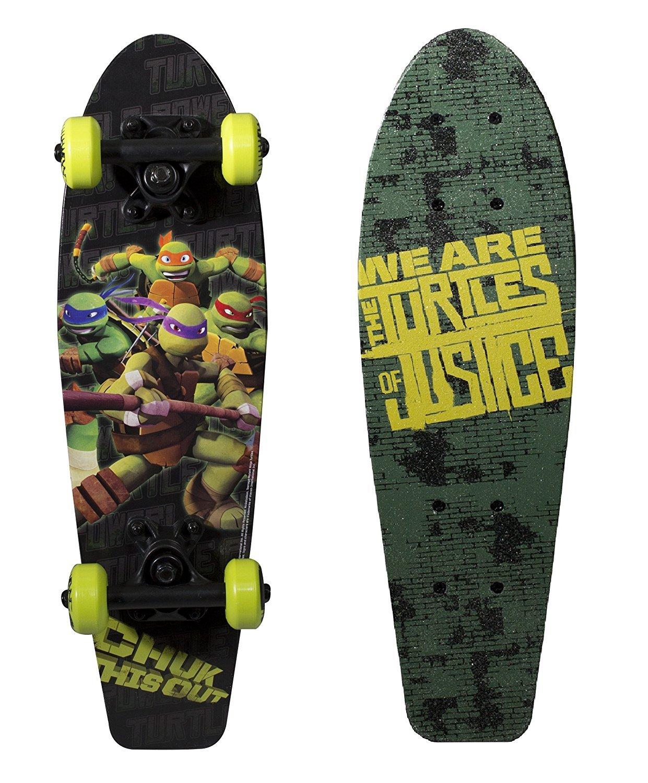 最安値に挑戦! PlayWheels Teenage Mutant Ninja Cruiser Turtles 21 Wood Mutant Cruiser of Skateboard - Turtles of Justice Graphic [並行輸入品] B071NQRQ99, のレン:97499820 --- a0267596.xsph.ru