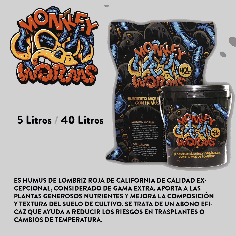 Humus de Lombriz Roja Puro - El Mejor Fertilizante - Sustrato No ...