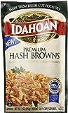 Idahoan Premium Hash Browns with Real Idaho® Potatoes (2 Pack) 3 oz Bags