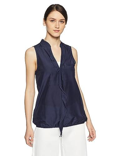 Gas Women's Empire Shirt Women's Blouses & Shirts at amazon