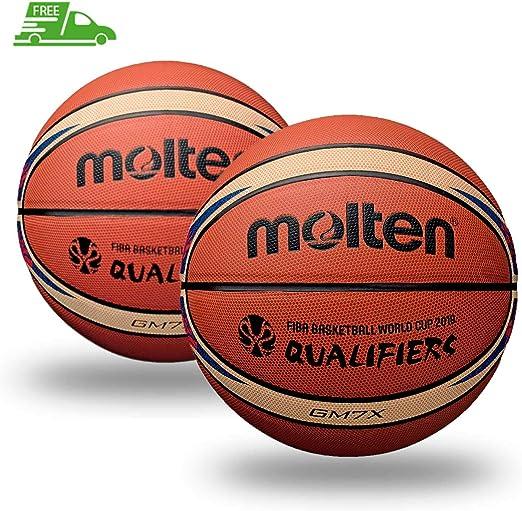 Molten BGM7X Fiba World Cup - Balón de Baloncesto (tamaño 7, 2 ...