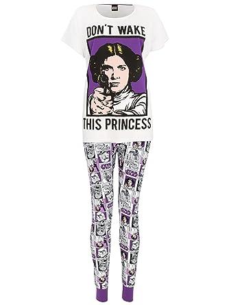 Star Wars - Pijama para mujer - Princesa Leia: Amazon.es: Ropa y accesorios