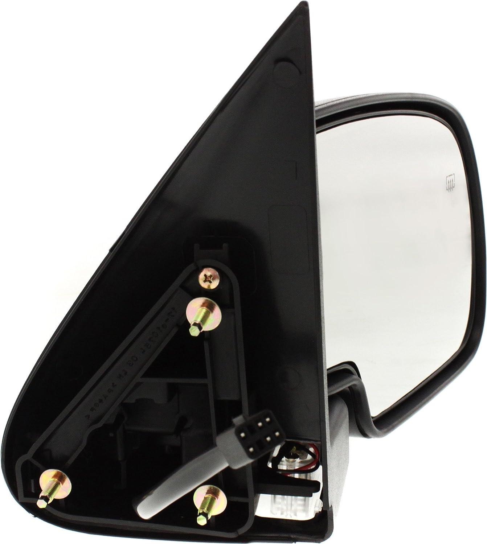 KOOL-VUE Mirror Left Side Chevy Silverado 1500 2500 3500 HD 03-07 Single Plug