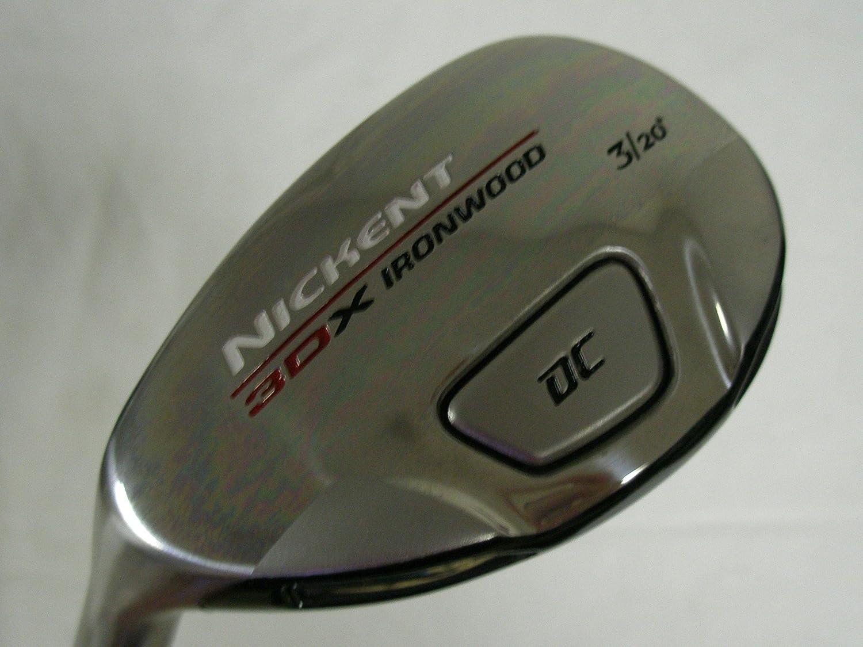 Nickent 3dx Ironwood 3 Resuce 20 (グラファイトsr2、レギュラー、左ゴルフクラブ B00R9RIPTK
