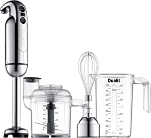 Dualit Immersion Blender with Accessory Kit, Chrome