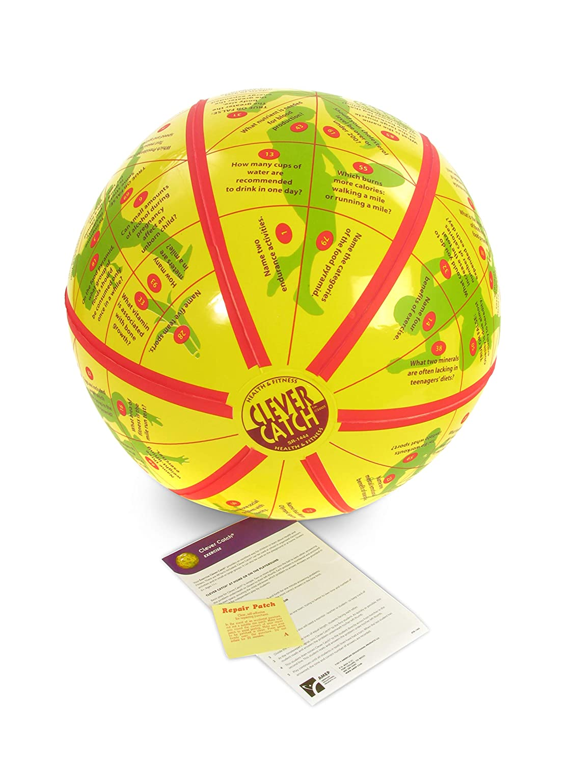 American Educational Vinyl Clever Catch Gymnastikball, 61 cm Durchmesser