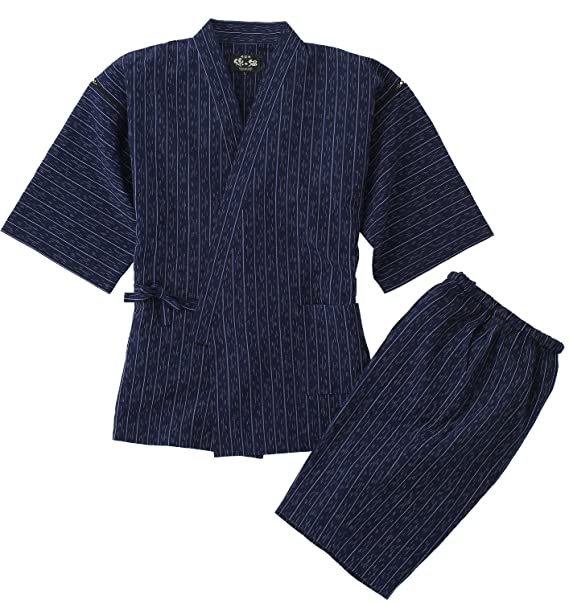 Pijama son diseño japonés Watanosato Jinbei para hombre