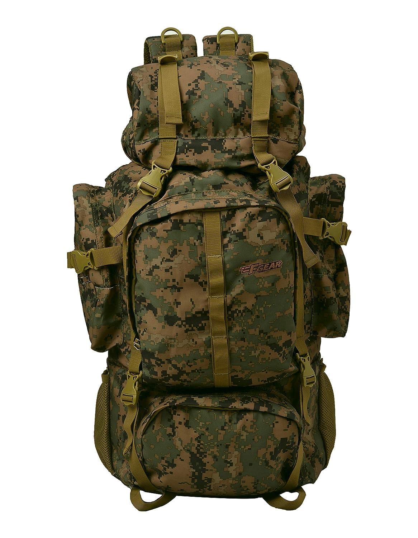 F Gear Military Neutron 50 Ltrs Rucksack (Marpat WL Digital Camo)