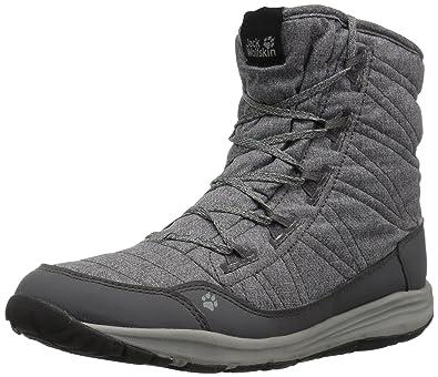 Jack Wolfskin Damen Portland Boot W Trekking-& Wanderstiefel, Grau (Dark Steel 6032), 37 EU