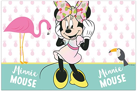 Procos 10118241 Party Set Minnie Ratón Tropical