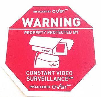 Amazon.com: 7 Cámara de seguridad estática Cling cámara ...