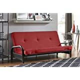 Amazon Com Full Size Savannah Futon Sofa Bed Frame Only